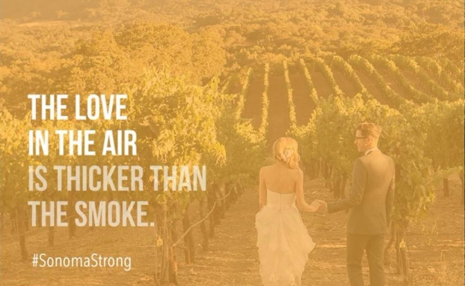 Sonoma Strong: Ignited by Fire.
